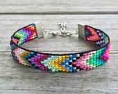 Harmony Colors Handmade Beaded Bracelet