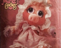 Vintage Sewing Pattern Jim Henson Muppet Babies Baby Miss Piggy And Clothes 1984 Vogue Pattern