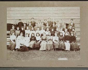 Antique Class Photo Asbury Park NJ June 14 1900   SALE - was 38.00
