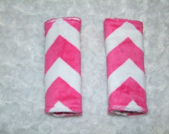 CHEVRON Car seat Strap Covers- Ships in 1-3 Days