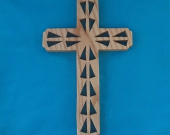 Wooden Wall Cross C2