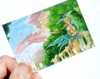 Dragonlore ACEO Print