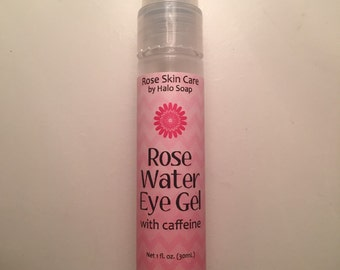 Rose Water Eye Gel with Caffeine