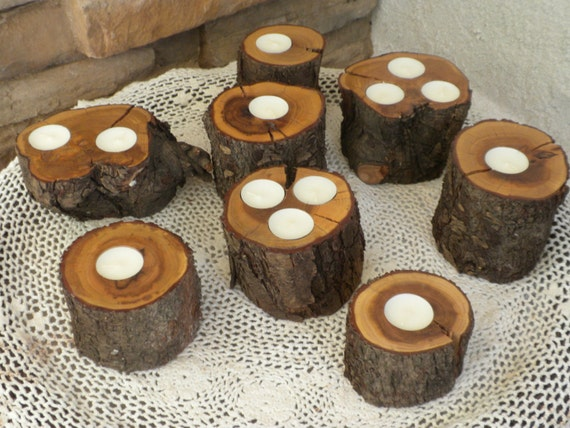 9 Unique Wood Tealite Tea Light Candle Holder By Craftsbymerle
