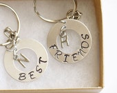 Best Friend Gift Keychain, Personalized Gifts for Best Friend, Best Friend Keychain, Friendship Gift, Best Friend Birthday Gift