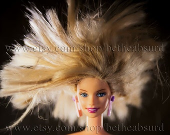 Been Around the Block Doll Fine Art Photograph: Fly Away Barbie