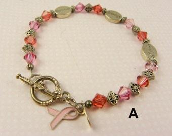 Breast Cancer Bracelet