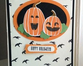 Goulish Greetings Halloween Card