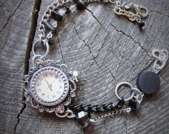 Bracelet Watch, Watches for Women, Bracelet Watch, Beaded Watch, Beaded Watch Band, Boho Watch, Womens Watches, Gifts for Women