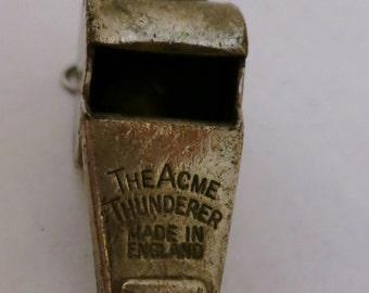 Vintage Wilson Acme Thunderer Whistle