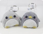 Penguin Felt Plush Keychain/Ornament