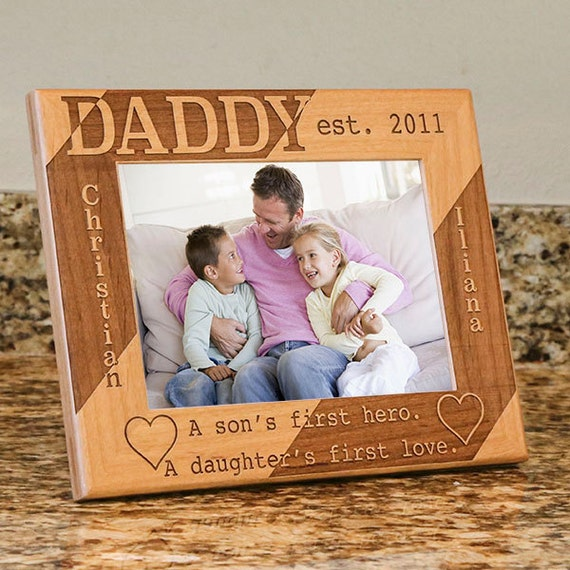 Thoughtful christmas gift for dad picture frame from son for Thoughtful gifts for dad from daughter