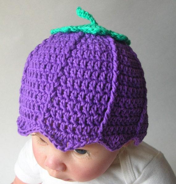 Crochet Pattern For Flower Fairy Primrose Hat : Flower Fairy Crochet Baby Hat/Beanie Pattern Newborn ...