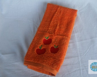 My Little Pony Inspired Hand Towel - Applejack Cutie Mark