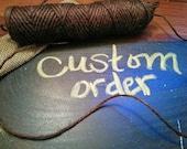 Custom order for natesmamad