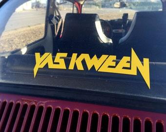 Yas Kween Decal