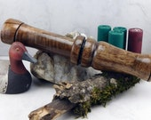 Short Reed goose Call  in   AmericanWalnut  With a very long stopper #252