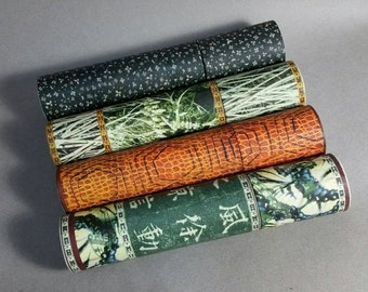 NEW Telescoping Sleeves -ONLY -for Yarrow Stalks to consult I Ching- most popular patterns