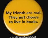 Friends In Books Button