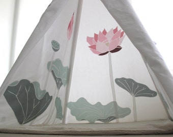 Sacred Lotus Teepee Tent