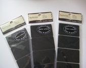 Chalkboard Paper Labels - Set of 3 Packs- 20 Labels - 2x1