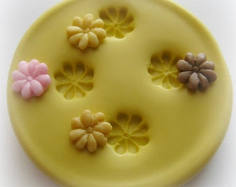 DIY Scale 1:12 Mini Candy Cookie Mold Resin Polymer Clay Miniatures Sweets Mold Dollhouse Candy Mold