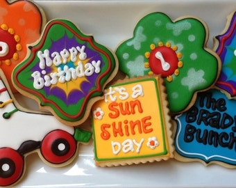 60's and 70's Sugar Cookie Collection