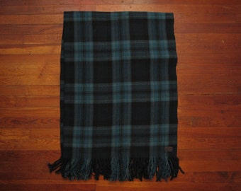 Pendleton Woolen mills tartan throw blanket