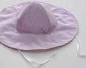 Toddler Beach Hat, Baby Sun Hat, Baby Floppy Hat,  Sun Hat Baby  Ready to Ship