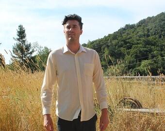 Yves St Laurent Mens Dress Shirt Small