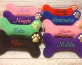 Personalized Dog Toy-Large with Squeaker