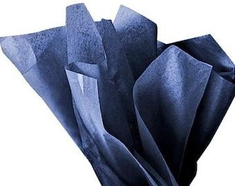 Tissue Paper - 20 Sheets Premium MIDNIGHT BLUE