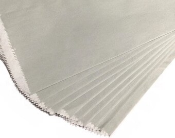 "12""x15"" Gray Paper Merchandise Bags - 25PK"