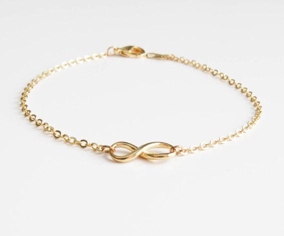 Infinity Bracelet | Delicate infinity bracelet | Layering Bracelet | Gold Infinity Bracelet | Christmas gift | Gift for her | Black Friday