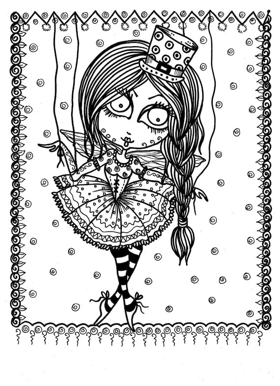 free funky coloring pages - photo#4