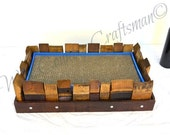 CLAWS - Kadiska - Wine Barrel Cat Scratcher Pad - 100% recycled durable, healthy, fun for your cat!