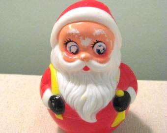 Vintage Kiddie Products Roly Poly Musical Santa