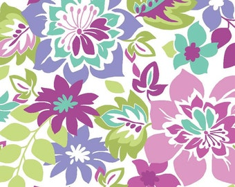 Extravaganza Main in Purple Fabric - 1 Yard