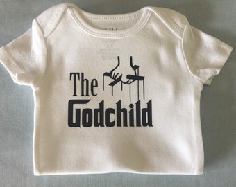 Godchild, onesie,  bodysuit,  children clothing, baby, tops,shirt