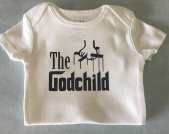 Godchild onesie
