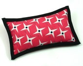 Catnip Toys, Cat Toys, Toys for Cats, Geranium Color Pillow, Cool Cat Toys, Big Cat Toys, Catnip Pillows, Pointy Pillows, FOUR POINTS