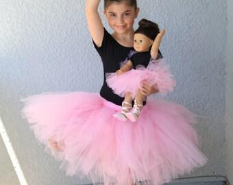 Pink Tutu  - SEWN tutu - pink tutu -  bright pink tutu  pink pink  flower girl tutu  flowergirl tutu  photo prop tutu  ballerina pink tutu