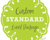 STANDARD PARTY PACKAGE - custom decorations made to order - you choose the theme & colors