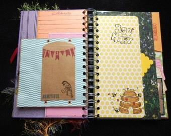 Junk Journal- Junque Journal -Memory Album- Smash -OOAK