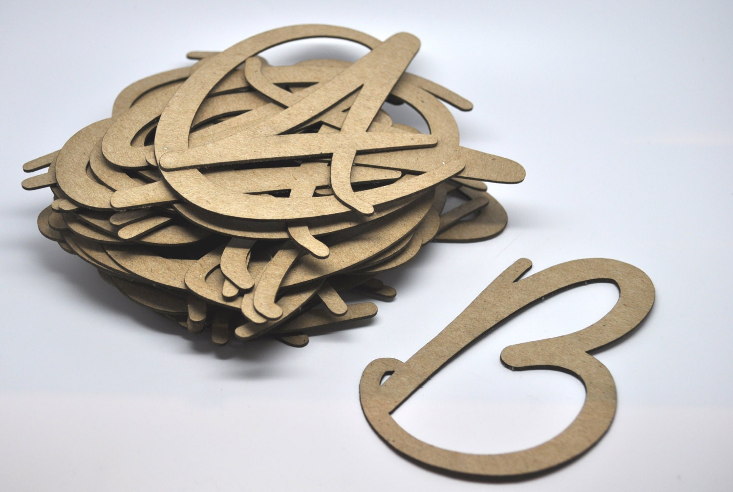 chipboard letters 4 inch uppercase chipboard tag qty 40 With 8 inch chipboard letters