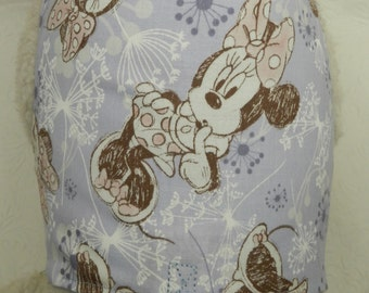 Dainty Lil' Minnie! Disney Mouse Soft Purple/Lavendar Flower Dandylion Theme Custom Made Harness. Perfect Item for your Cat, Dog or Ferret.