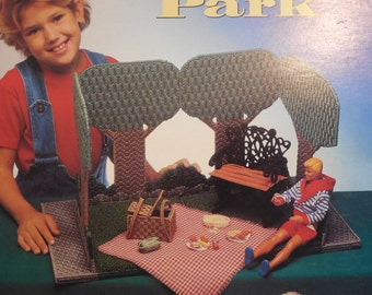 Carry and play   Park   (plastic canvas)  fashion doll