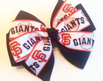 San Francisco Giants Hairbow