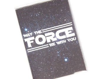 PASSPORT COVER - May The Force Be With You, Star Wars. Passport Holder, Passport Case, Travel Wallet, Travel Gift Idea, Gift For Him, Travel