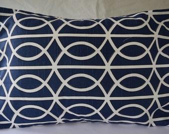CLEARANCE Bella Porte Twilight Oops pillow (pattern sideways)